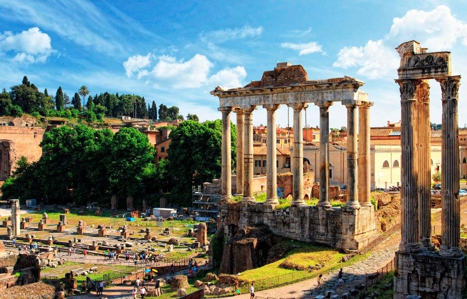 Прогулка по древнему риму доклад 7492