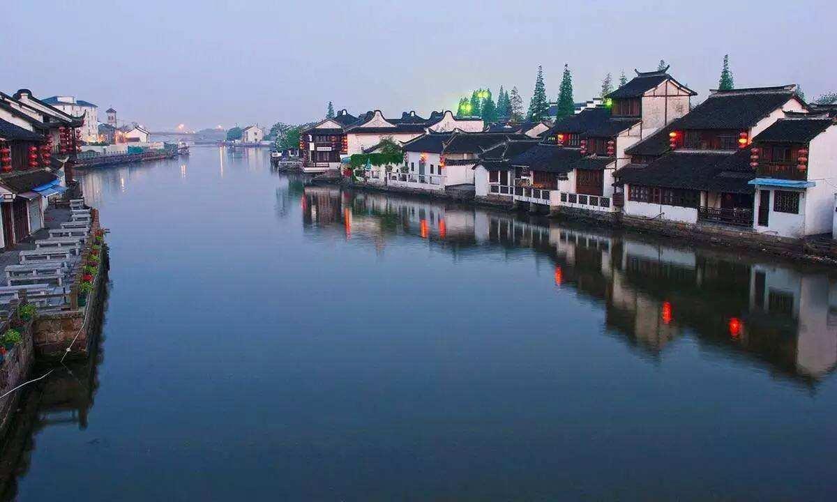 Чжуцзяцзяо — «Восточная Венеция»