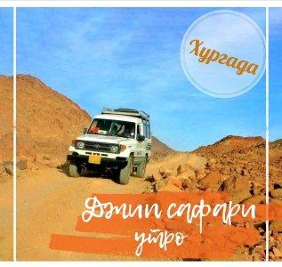 Джип сафари (утренняя программа) из Хургады