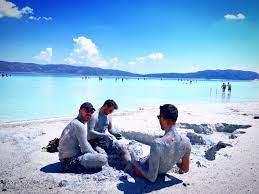 Марсианские Мальдивы — озеро Салда
