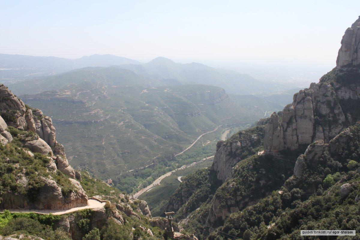 Монтсеррат. В горы к главной покровительнице Каталонии