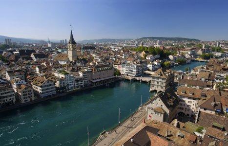 Цюрих — швейцарская роскошь.