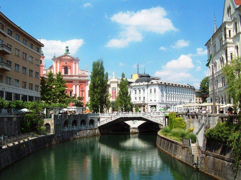 Любляна-город сказка. Экскурсия в Словению
