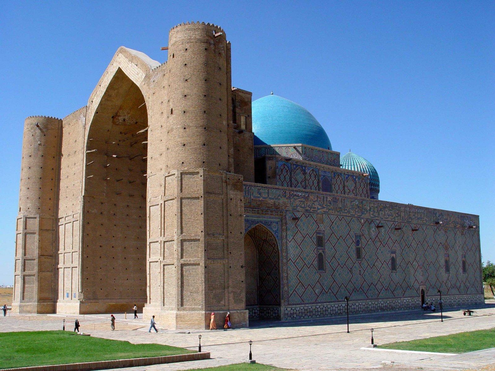 Туркестан картинки города