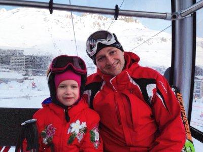 Инструктор по горным лыжам в Межеве и Куршевеле