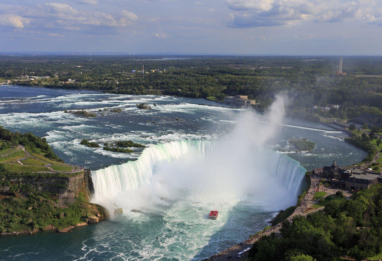 Путешествие к Ниагарским водопадам