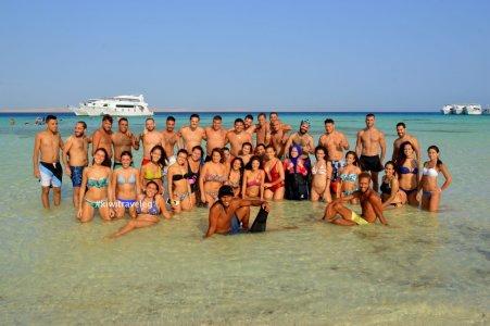 VIP Белый остров и заповедник Рас-Мохаммед (яхтa)