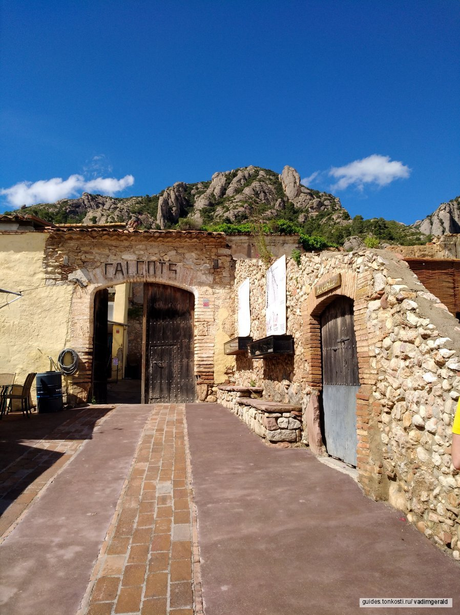 Гора Монсеррат, Черная Мадонна, бенедиктинский монастырь и оливковая ферма. Фотоэкскурсия