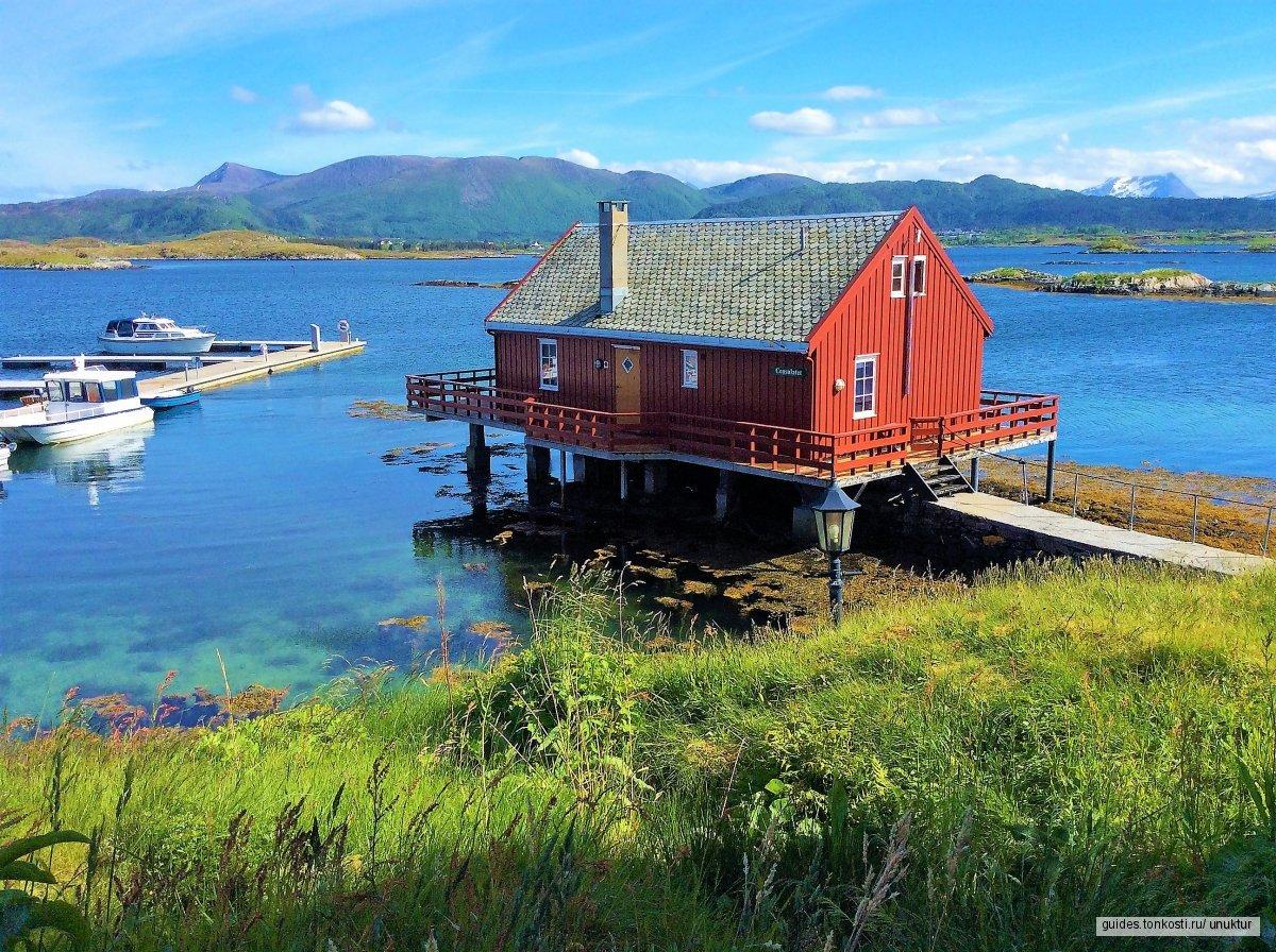 Майские на фьордах Норвегии