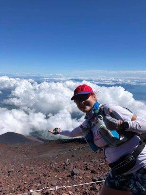Восхождение на Fujisan. Высота 3776 метров