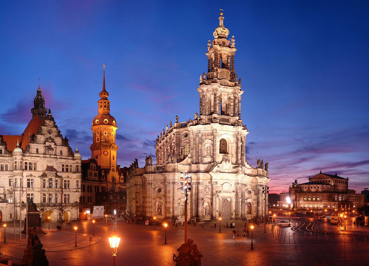 Прага — Дрезден
