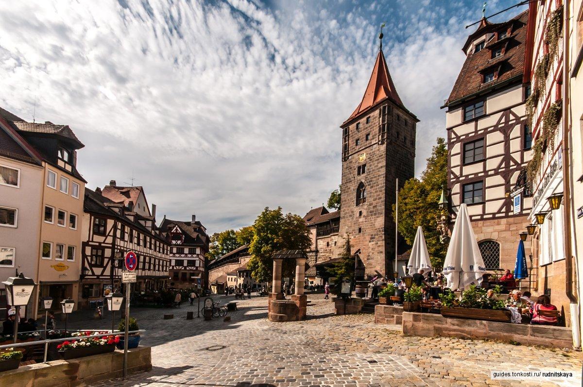 Нюрнберг — царство фахверковых домиков