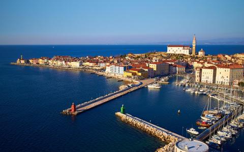 Словенское побережье Адриатики, Истрия в Словении, авто-пешеходная экскурсия