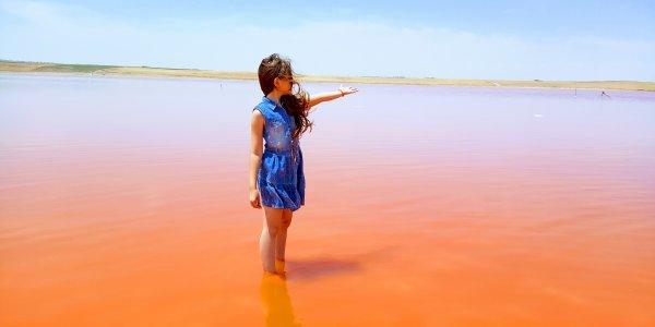 Розовое озеро и другие природные чудеса Апшерона
