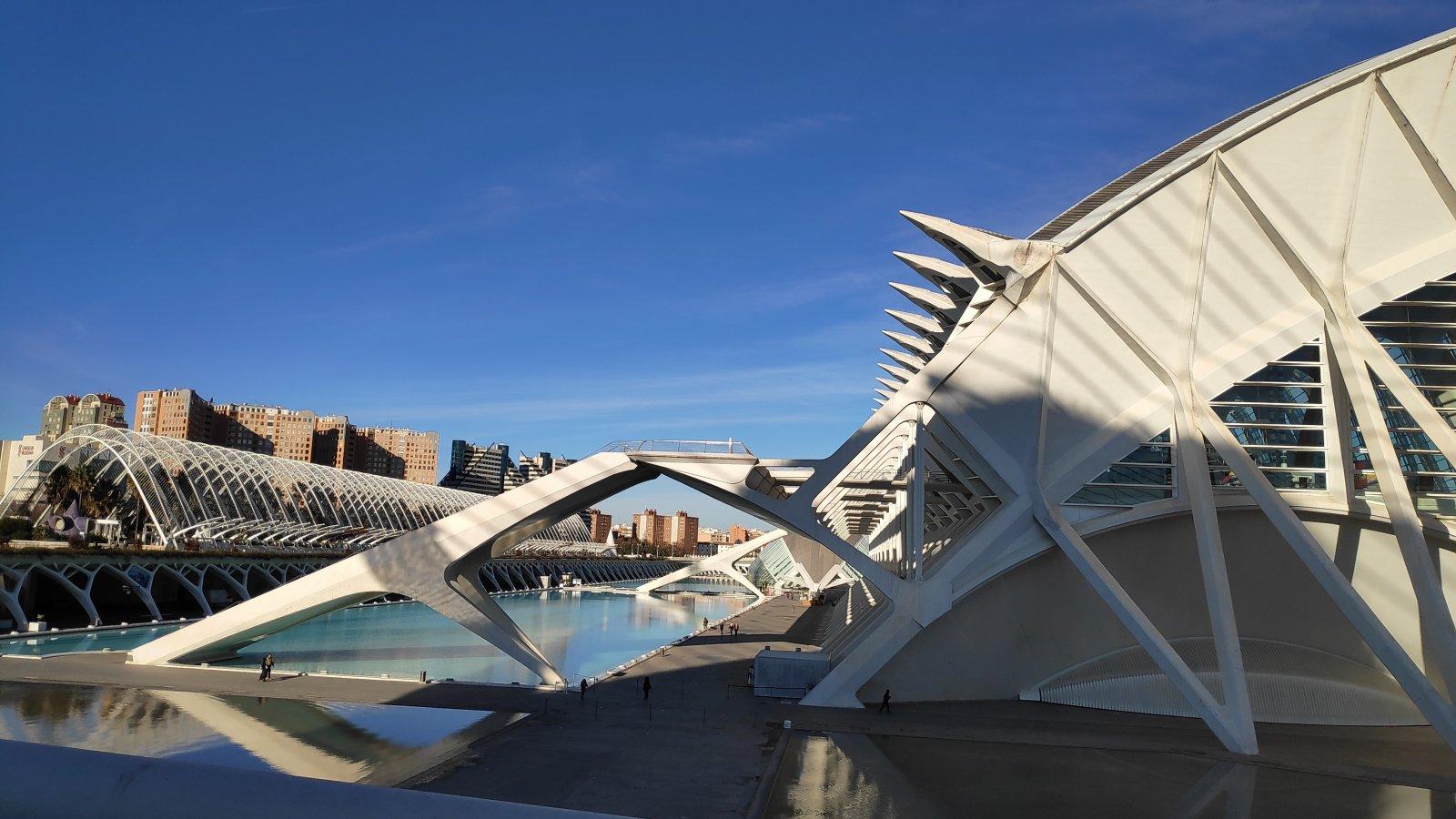 Город Искусств и Наук — архитектурное чудо Валенсии. Праздник Фальяс