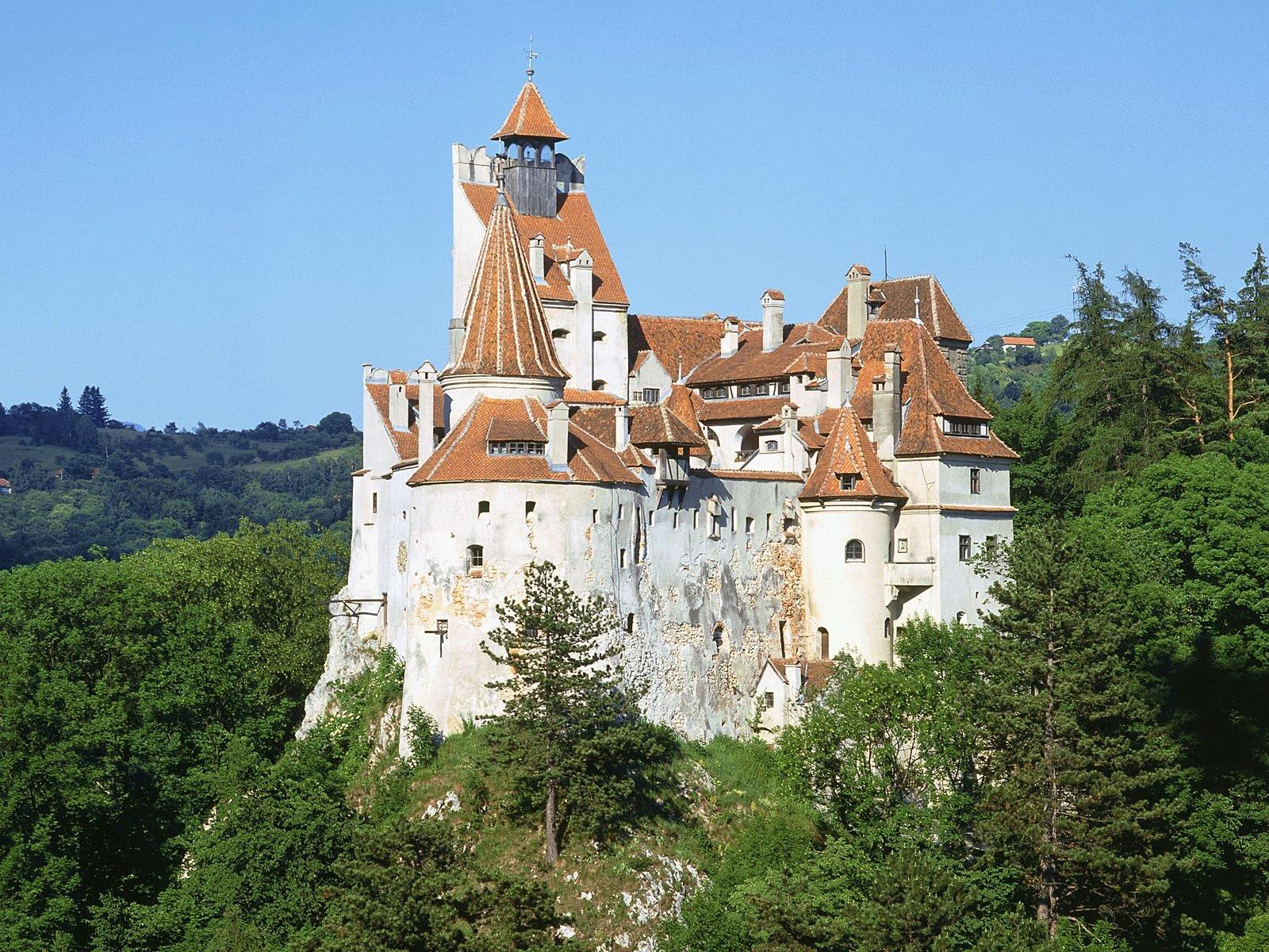 Замок Бран — «логово графа Дракулы»