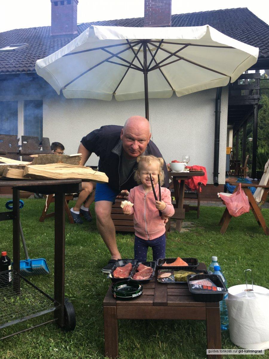 Уик-энд в Польше. Аквапарк, бани, барбекю и шоппинг