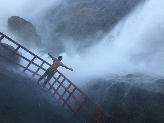Из Нью-Йорка на водопад