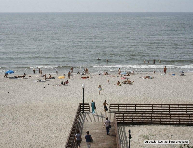 Жемчужины Балтийского побережья. Янтарный — Светлогорск