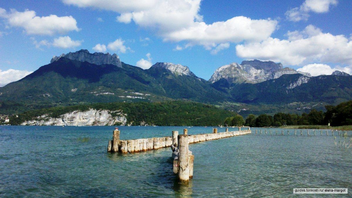Жизнь и легенды герцогства Савойи, или Вокруг озера Анси