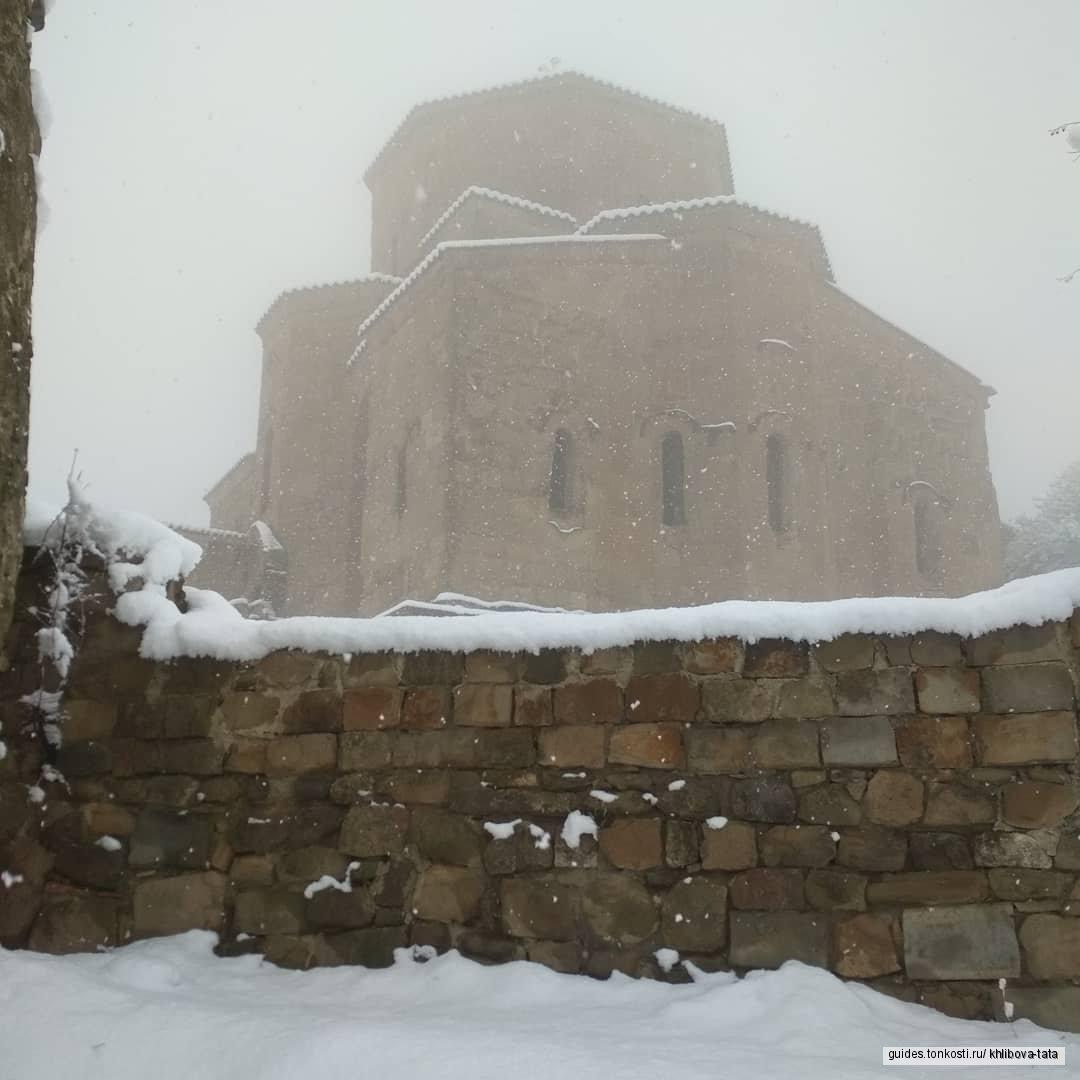 Мцхета, Джвари — истоки православия Грузии!!!