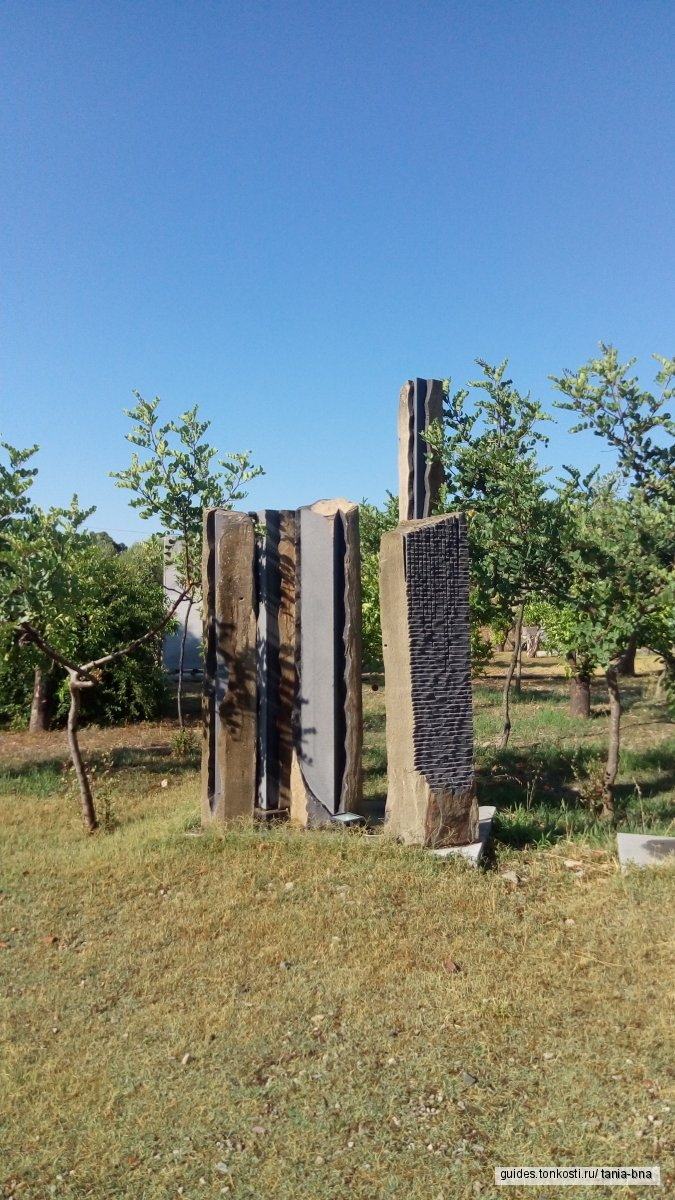 Сад поющих камней. Только на Сардинии