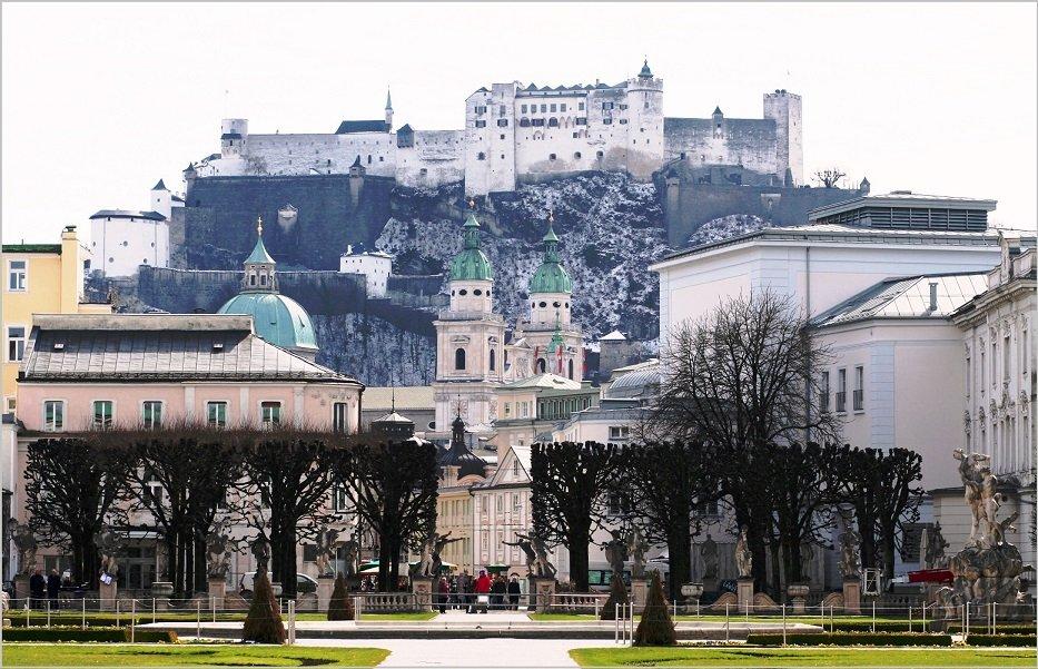 Непреступная крепость Хоэнзальцбург
