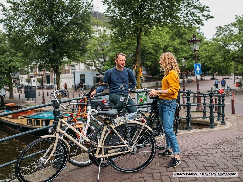 Велопрогулка по Амстердаму: влюбиться в город за три часа