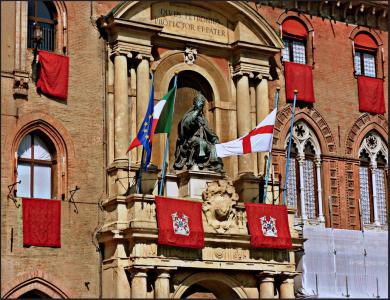 Болонья — Дворец городского совета