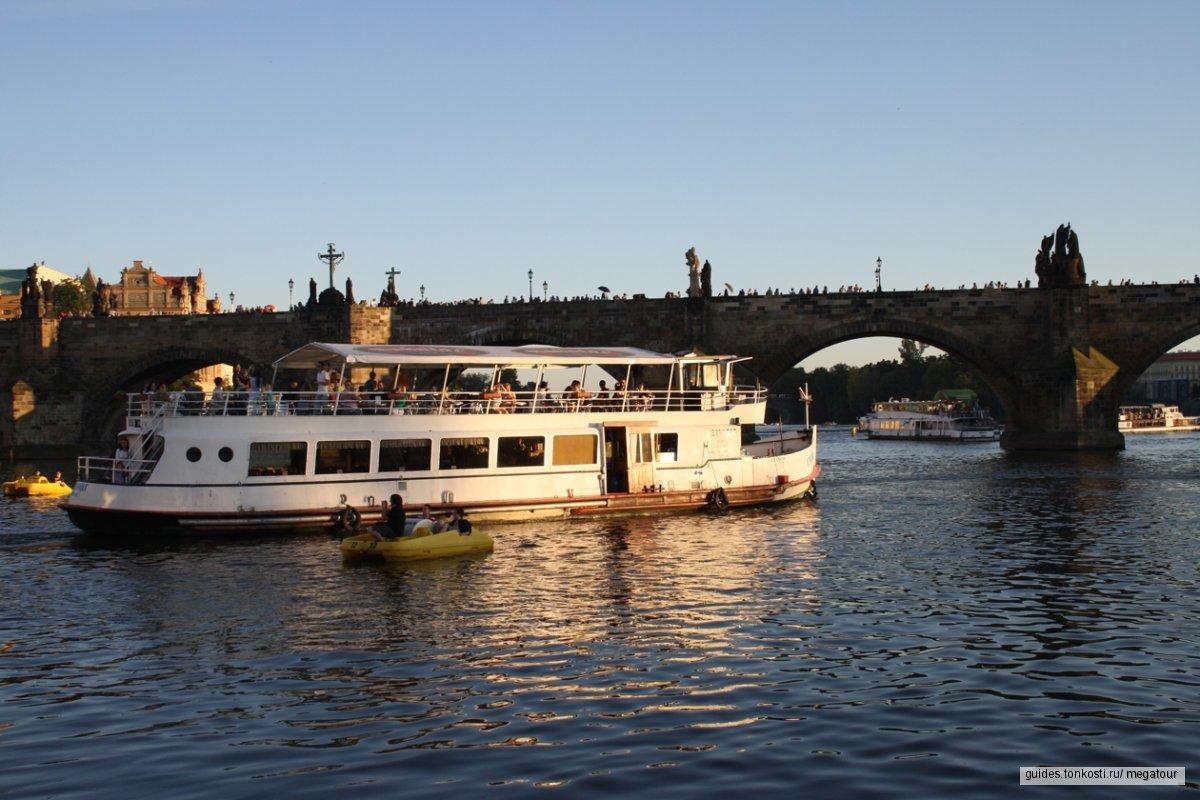 Обзорная экскурсия в Праге + кораблик