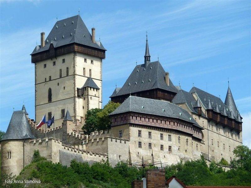 Из Праги в замок Конопиште + замок Карлштейн