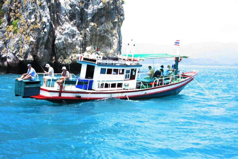 Морская рыбалка в Тайланде на о. Самуи