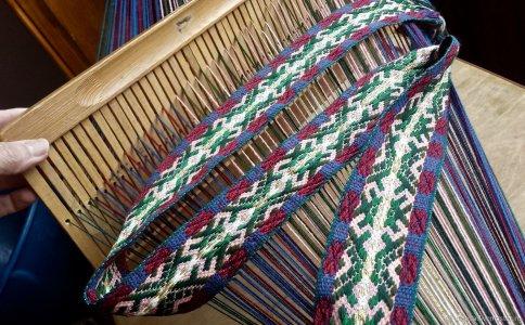 Мастер-класс по ткачеству, сухому и мокрому валянию, вышивке лентами