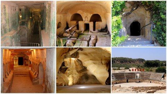 Бейт-Гуврин — город пещер