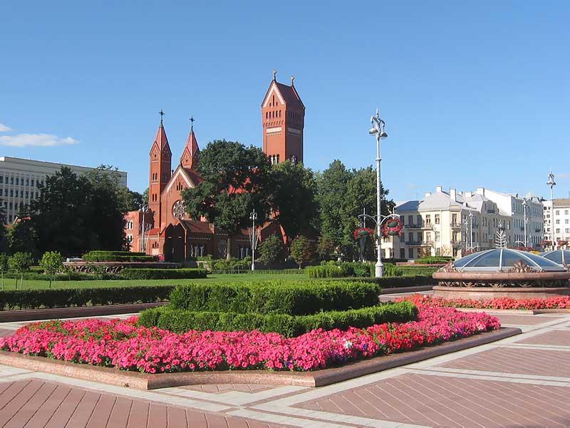 Мозаика белорусской столицы
