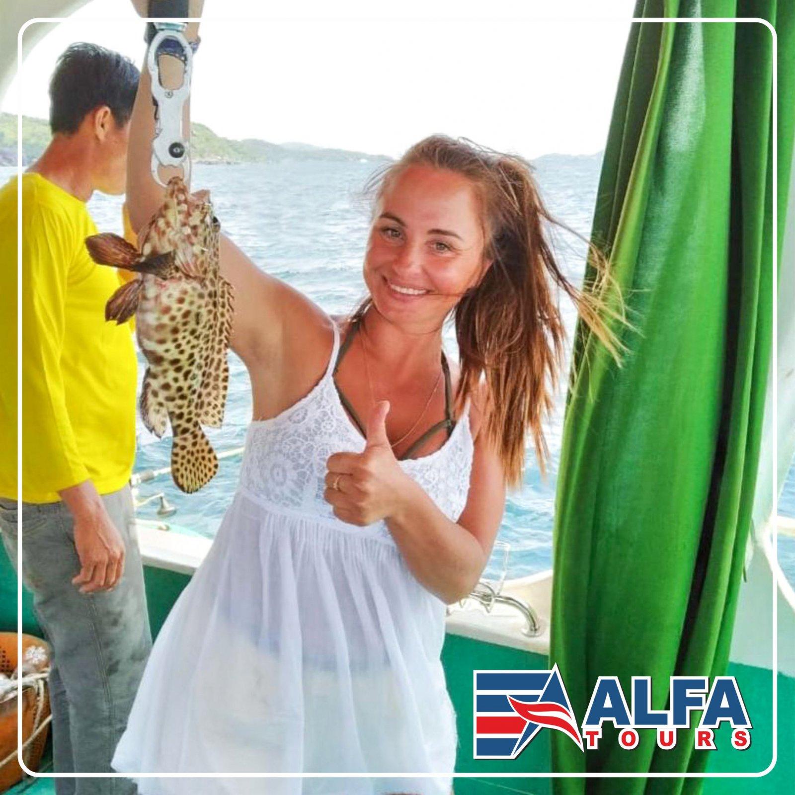 Рыбалка на большую рыбу