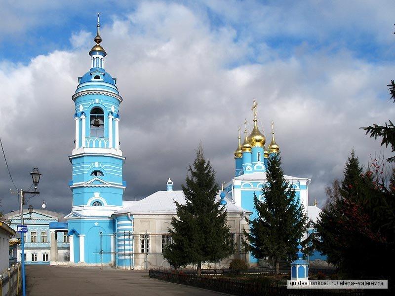 Уникальные храмы Коломны