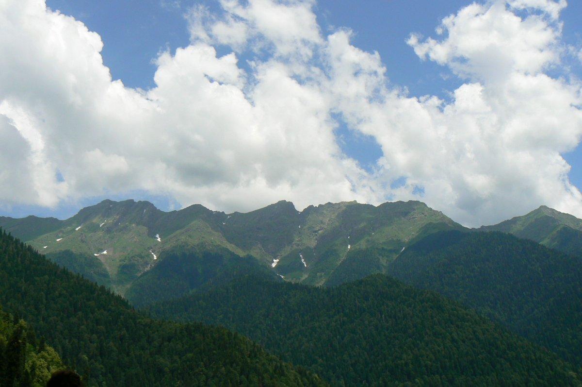 Жемчужина Абхазии — озеро Рица. Гагра