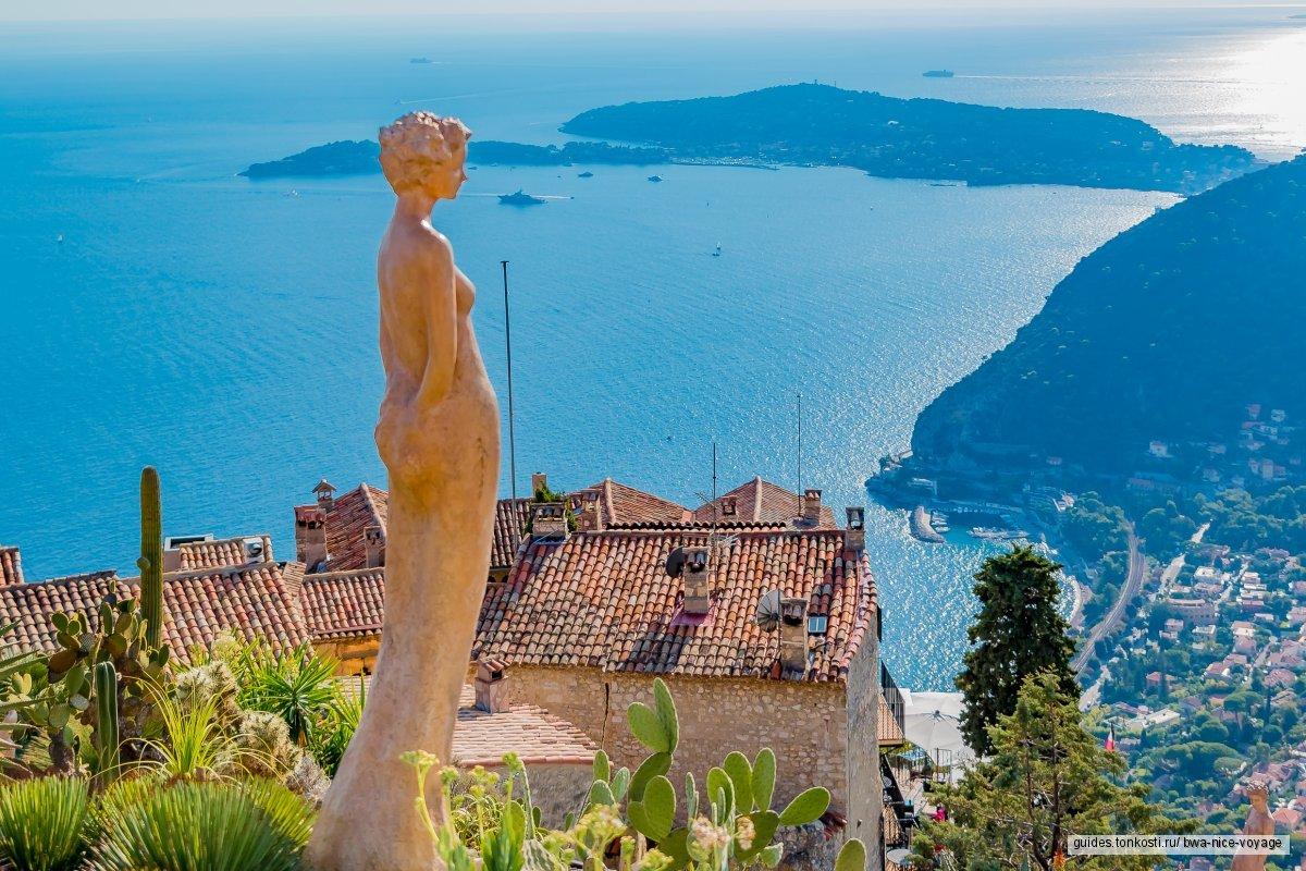 Панорама Ниццы, Эз, Монако и его Монте-Карло