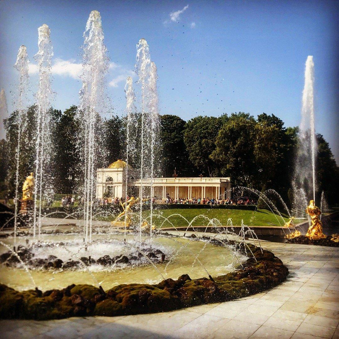 Петергоф — столица фонтанов