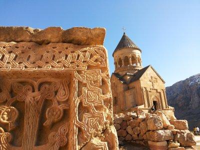 Ереван — монастырь Хор Вирап, подножье библейского Арарата — Арени — монастырь Нораванк — Ереван