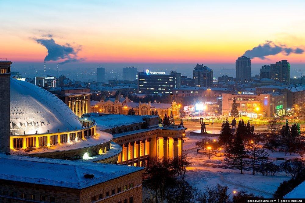 Обзорная экскурсия «Весь Новосибирск»