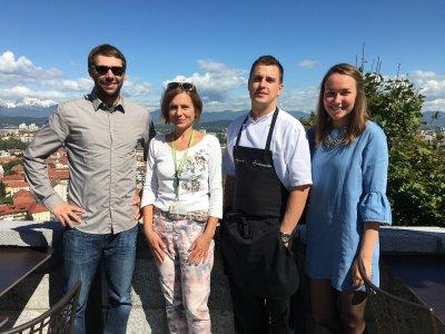 Кулинарная прогулка по старинным улочкам города Любляны