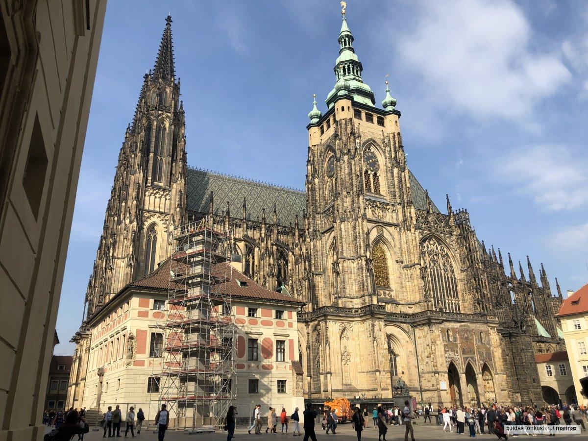 Прага левобережная — Градчаны и Малая Страна