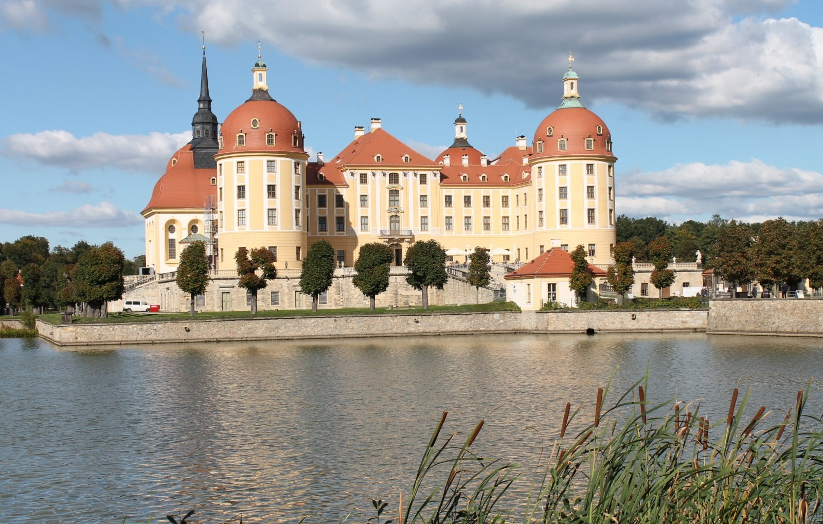 «Все могут короли». Экскурсия в Морицбург с лицензированным гидом