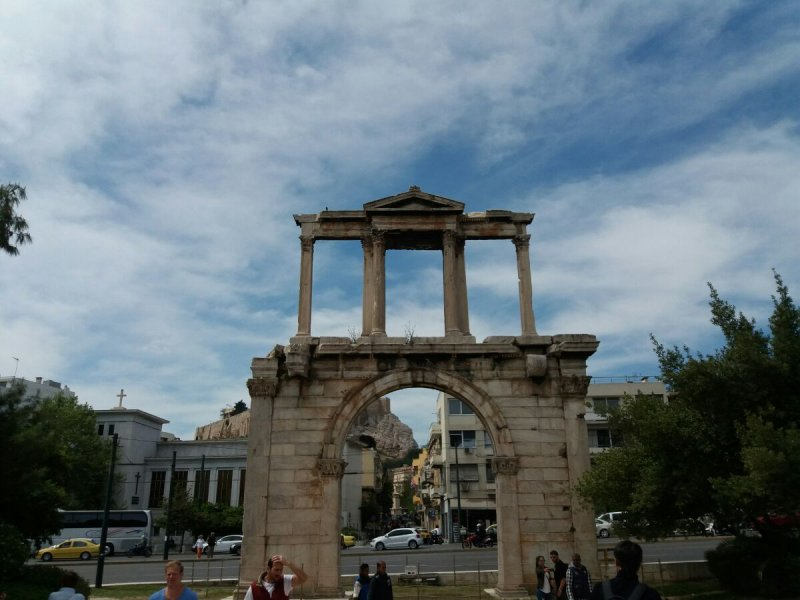 Афины- Неоклассическая  трилогия