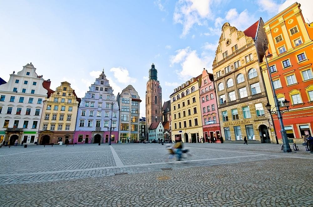 Старый город — жемчужина Вроцлава