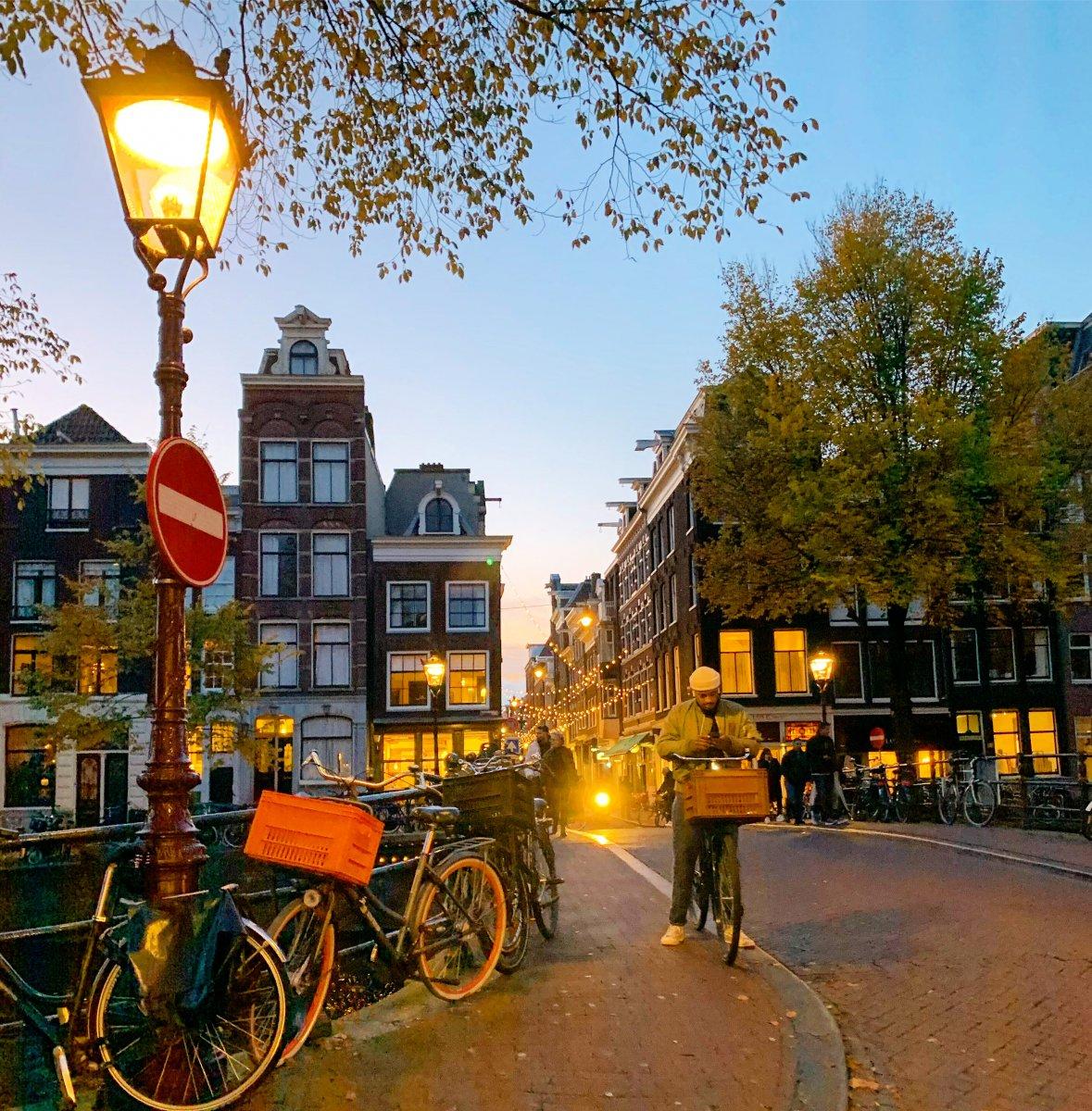 Инста-прогулка по романтичному и тихому Амстердаму