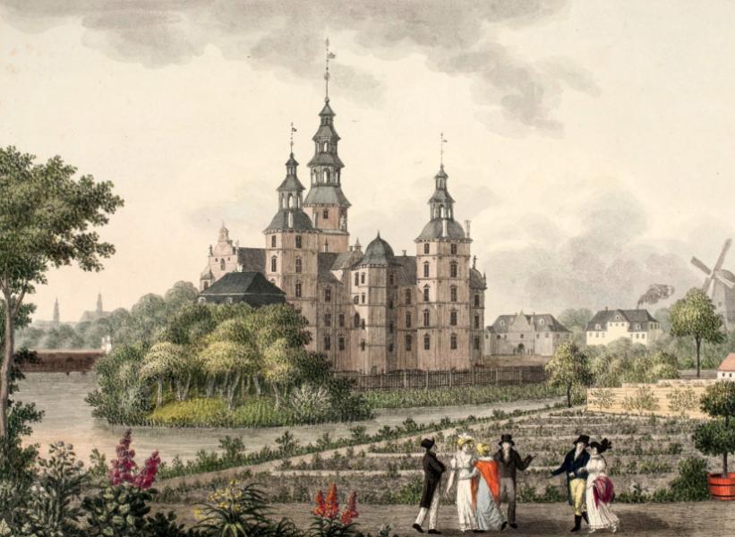 Замок Розенборг — аутентичное путешествие по истории датской королевской династии 17-19 веков