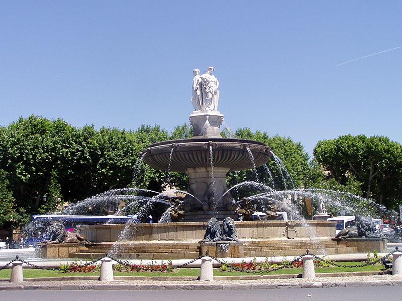Экс-ан-Прованс — бывшая столица Прованса и родина Поля Сезанна